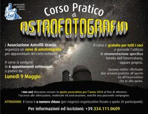 Corso Astrofotografia